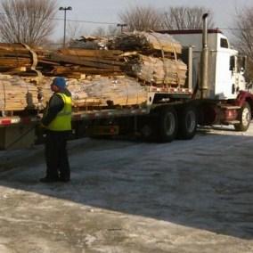 warwick maple on truck