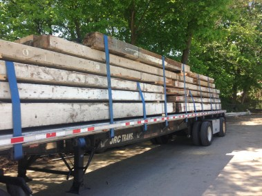Southern Yellow Pine Beams From Lowell, MA