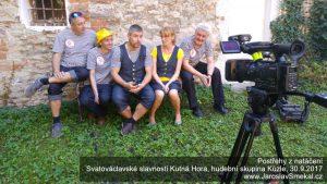 Postřehy z natáčení hudební skupiny Kůzle - www.JaroslavSmekal.cz
