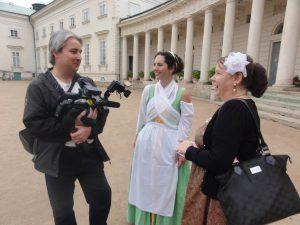 Fotografie z natáčení reportáže na zámku Kačina. Jaroslav Smékal, www.JaroslavSmekal.cz , www.YouTube.com/JaroslavSmekal, Facebook.com/JaroslavSmekalCZ