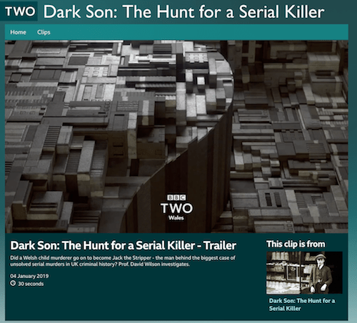 Dark Son: The Hunt for a Serial Killer