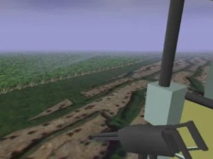 Virtual Vietnam PTSD Therapy Rice Patty Flyover