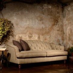 Harris Tweed Bowmore Midi Sofa Pull Out Bed For Rv Tetrad Dalmore In Option A Jarrold Norwich