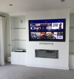 the tv had the ability to access the internet for catch up services access to sky box in hd located in another part of the house and freeview hd services  [ 1067 x 800 Pixel ]