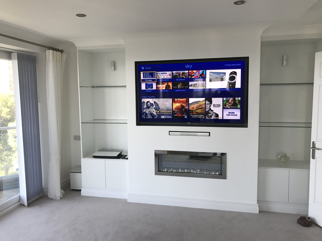 hight resolution of the tv had the ability to access the internet for catch up services access to sky box in hd located in another part of the house and freeview hd services