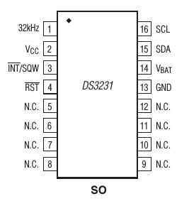 /dev/jarzebski: Zegar czasu rzeczywistego RTC DS3231