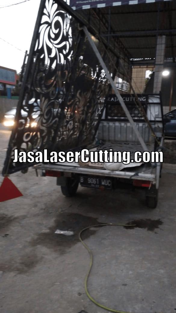 pagar laser cutting mewah
