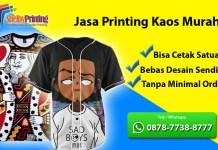 Jasa Print Kaos Murah