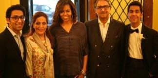 Michelle Obama visits Pakistan Embassy in Washington DC