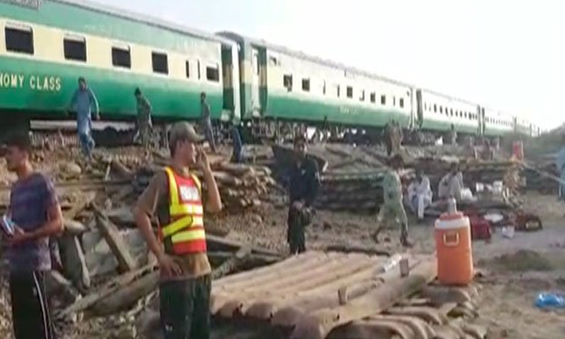 Sadiqabad train accident: Death toll rises to 24 as more