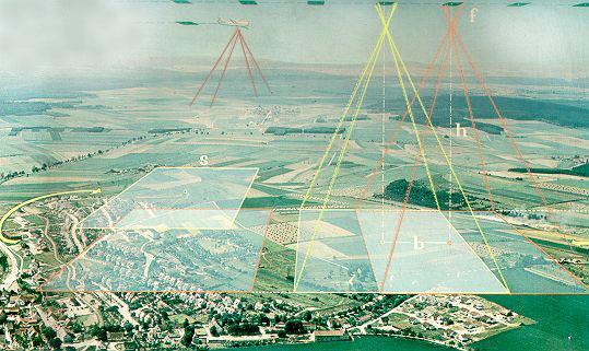 Gambar 1. Ilustrasi Pengambilan Data Pada Pekerjaan Foto Udara