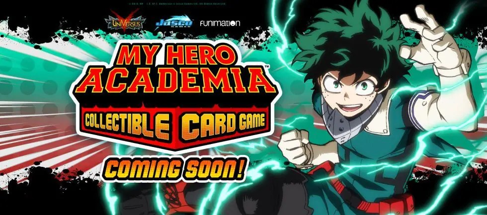 My Hero Academia Collectible Card Game coming soon!