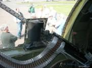 "An interior view of the ""Nine O Nine""... The port side waist gun."