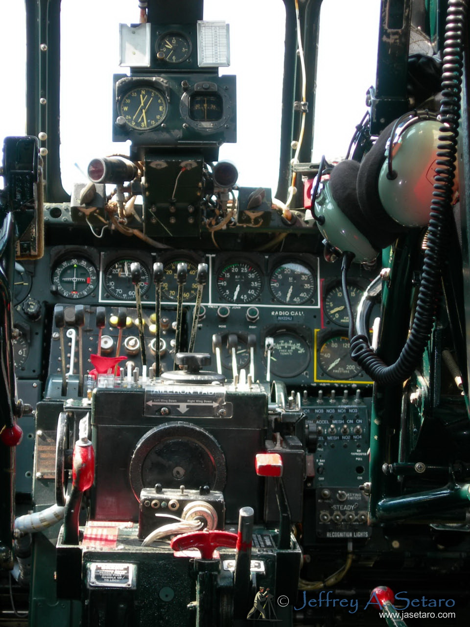 The Witchcraft's cockpit.