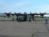 "The ""Wicthcraft"" a World War II era B-24J Liberator."