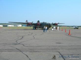 B-24J Liberator.