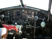 The Aluminum Overcast's Cockpit.