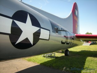 One of the Aluminum Overcast's waist guns.