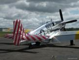 "The ""Betty Jane"" a World War II era North American TP-15C Mustang."