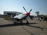 "The ""Betty Jane"" a World War II era TP-15C Mustang."