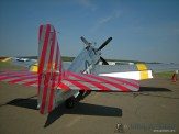 """The """"Betty Jane"""" a World War II era TP-15C Mustang."""