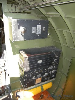 Equipment in the Nine O Nines radio compartment.