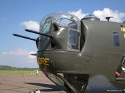 A close up of the Witchcraft's nose turret.