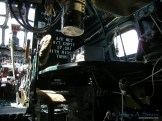 The radio operators station onboard the Witchcraft.