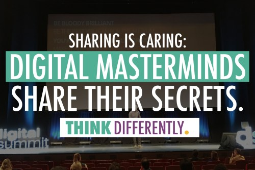 Sharing is Caring: Digital Masterminds Share Their Secrets | J. Ashley Panter