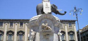 Fontana dell'elefante Catania transfer Service NCC