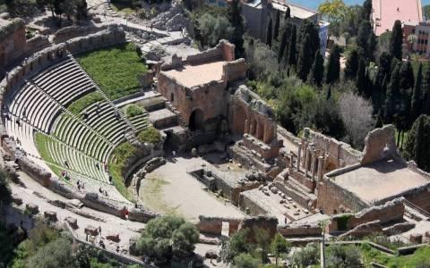 Greek-Roman Theather in Taormina