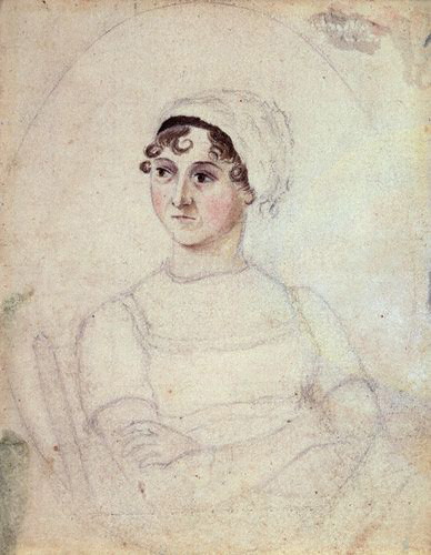 Jane Austen by Cassandra Austen (National Portrait Gallery)