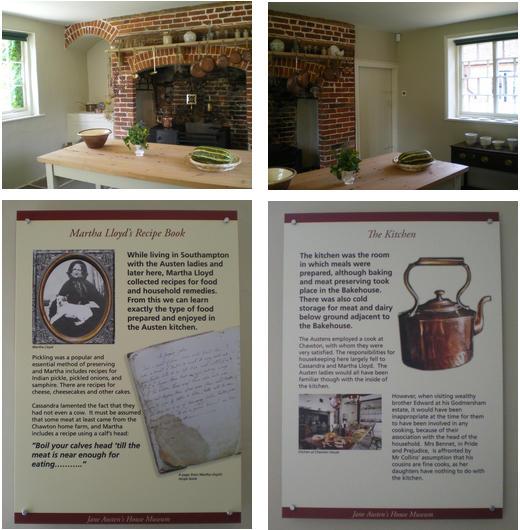 Chawton: la cucina