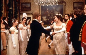 Una scena di danza in Pride and Prejudice