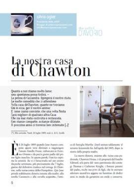 La nostra casa di Chawton, copertina