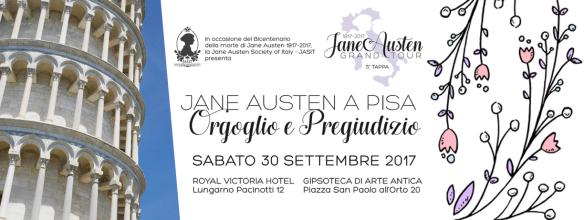 Jane Austen Grand Tour - Orgoglio e pregiudizio a Pisa