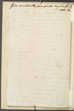Sanditon, manoscritto