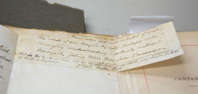 Jane Austen, manoscritto ritrovato in Memoir, 2014