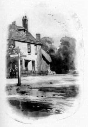 Chawton Cottage, ill. Ellen Hill