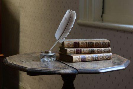 Chawton, writing table, Pride and Prejudice