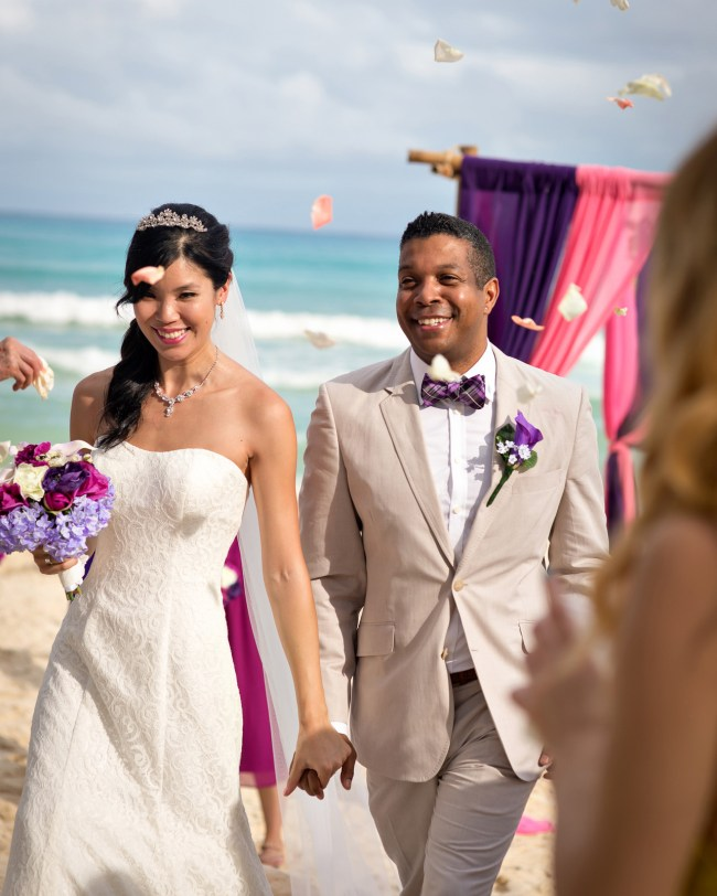 Annie & Phil's DIY Wedding at Villa Caribe in Beautiful Playacar