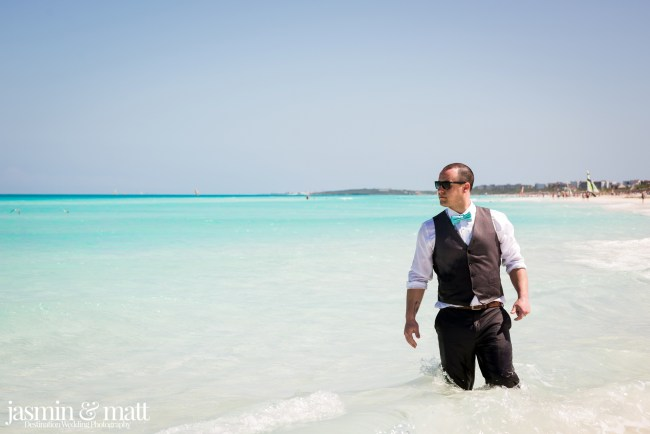 Kayla & Jason's Beach Trash the Dress at Hotel Playa Cayo Santa Maria Cuba