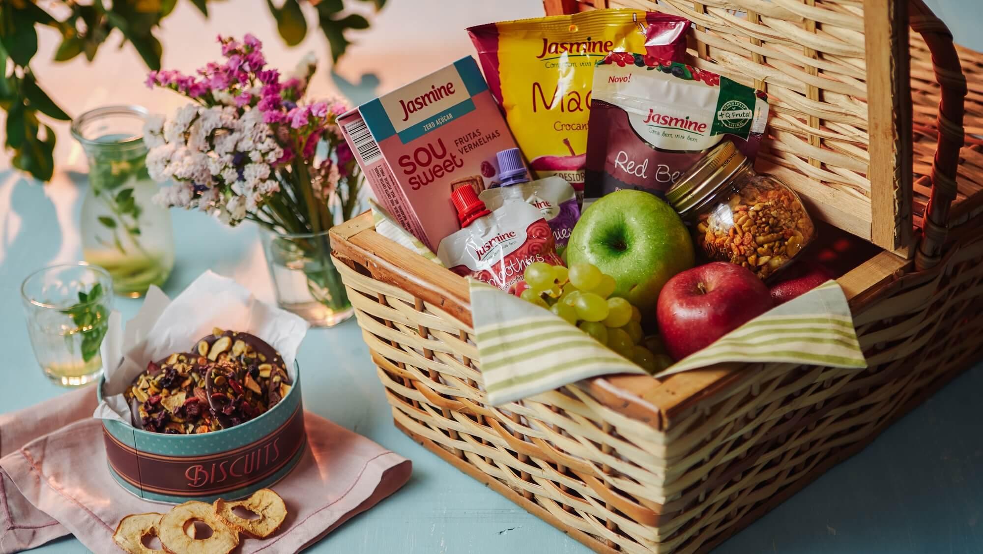 Como preparar uma cesta de piquenique saudvel e gostosa