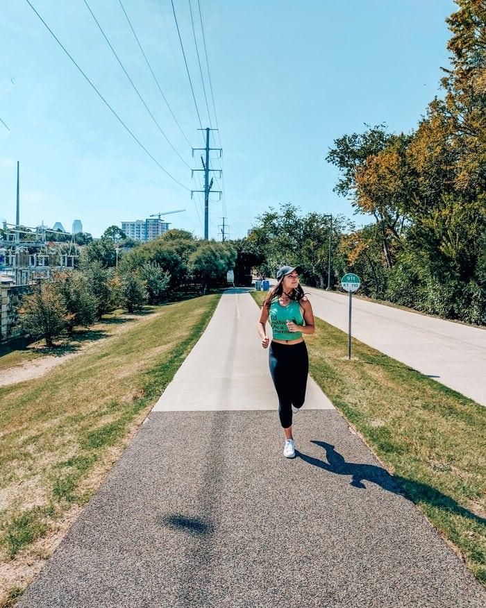 A Stroll Down the Katy Trail in Dallas, TX