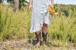 roses and cowboy boots