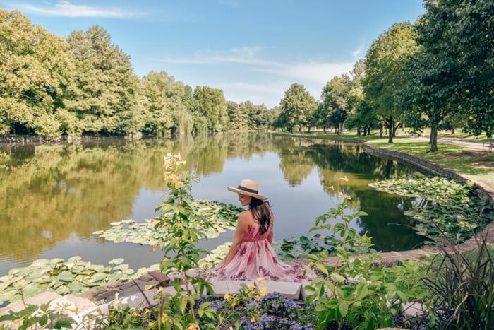 lakeside park gorgeous view