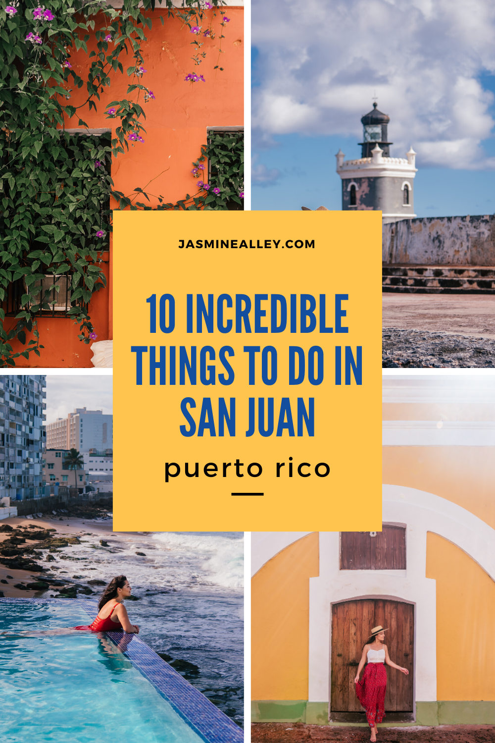 Heading to Puerto Rico? Here are the best things to do in and around San Juan, Puerto Rico. I compiled this list after two visits to Puerto Rico; the most recent one was during the earthquake, so we stayed close to San Juan and fell in love with these ten gems! From El Yunque and rainforest adventures to historic forts and the colorful buildings of Old San Juan, you\'ll find the best things to do on this list! #puertorico #worldtravels #travelblogger #sanjuanpuertorico #travelblog