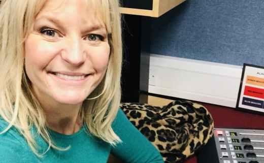 Jasmine Birtles radio presenter