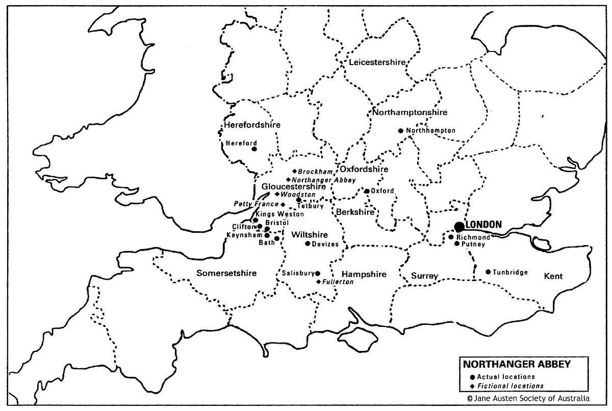 Maps Of The Novels 1