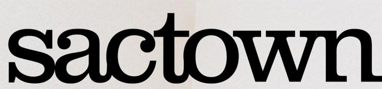 Fuel Creative's original logo concept for Sactown magazine